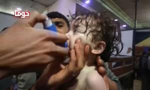 Ρωσία: «Σκηνοθετημένη η χημική επίθεση στην Ντούμα – Ψέμα τα 500 θύματα»