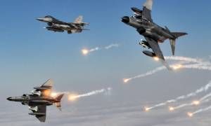 Εικονική αερομαχία μεταξύ ελληνικών και τουρκικών μαχητικών πάνω από το Αιγαίο