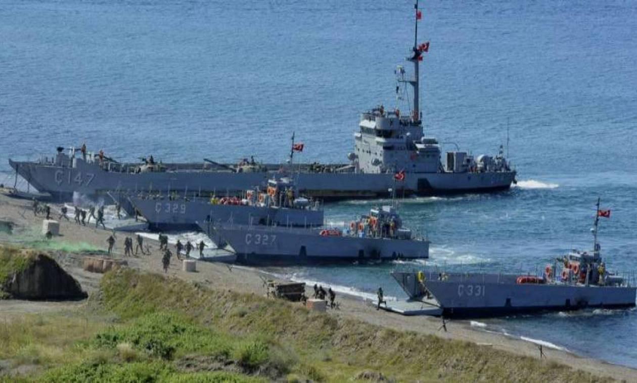 Το χαβά τους οι Τούρκοι: Ετοιμάζουν αποβατική άσκηση απέναντι από τη Χίο