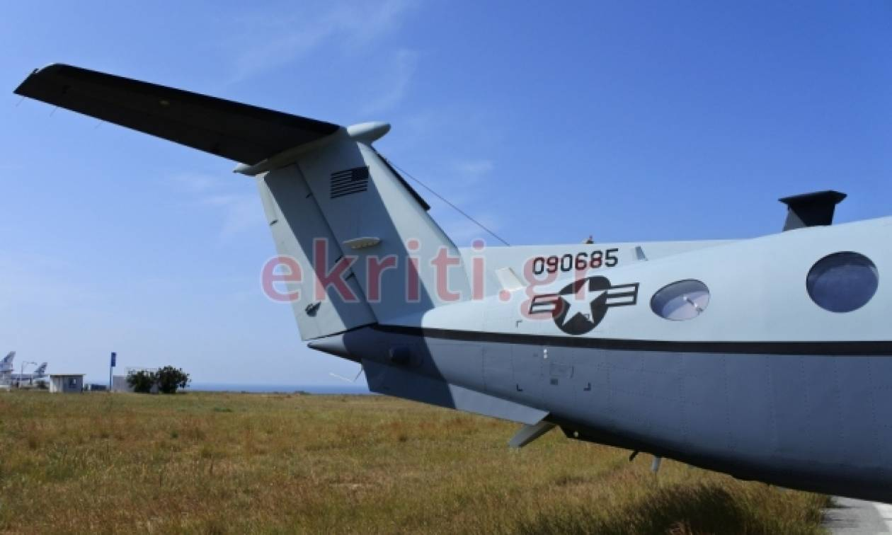 Αμερικανικά κατασκοπευτικά αεροσκάφη στην Κρήτη – Ποια η αποστολή τους (photos)