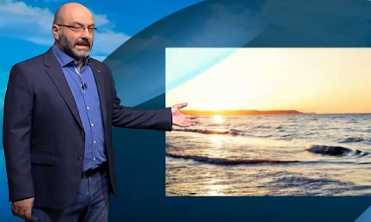 Καιρός για... μπάνιο στη θάλασσα! Η πρόγνωση του Σάκη Αρναούτογλου (video)
