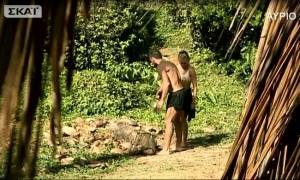 Survivor 2: Άγριος καβγάς ανάμεσα σε Δαλάκα και Χάρο για μία καρύδα