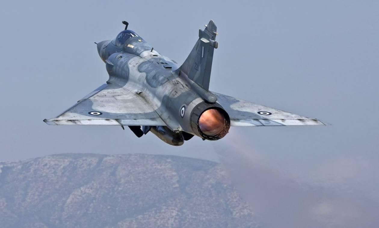 LIVE: Πτώση Mirage 2000-5 της Πολεμικής Αεροπορίας ανοιχτά της Σκύρου - Αγνοείται ο πιλότος