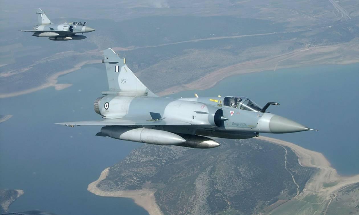 Πτώση Mirage 2000-5 στη Σκύρο: Η ανακοίνωση του ΓΕΑ