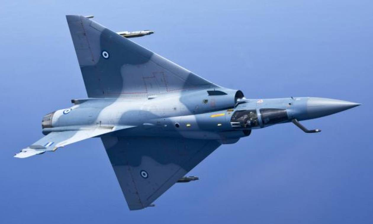 Πτώση αεροσκάφους: Νεκρός ο πιλότος του Mirage 2000-5 που συνετρίβη στη Σκύρο