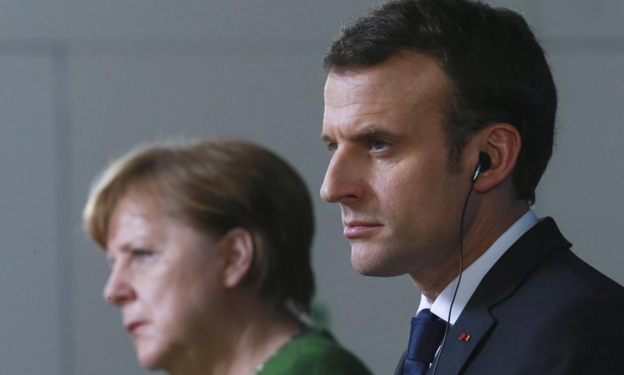 Τηλεφωνική επικοινωνία Μακρόν-Μέρκελ: Τι συζήτησαν οι δύο ηγέτες