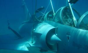 Πτώση Mirage 2000-5: «Ακούνε» στο βυθό τον καταγραφέα του μοιραίου αεροσκάφους