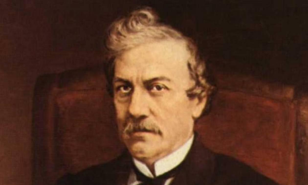 Σαν σήμερα το 1891 πεθαίνει ο μεγάλος Έλληνας ιστορικός Κωνσταντίνος Παπαρρηγόπουλος