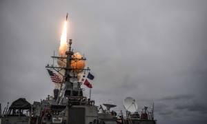 «Φωτιά και μέταλλο»: Ανηλεής βομβαρδισμός της Συρίας από 100 πυραύλους - Δείτε συγκλονιστικά βίντεο