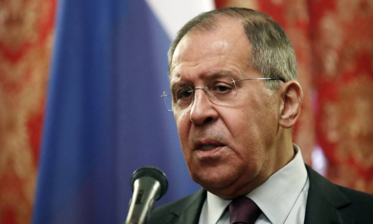 Λαβρόφ: Απαράδεκτες και παράνομες οι ενέργειες των χωρών της Δύσης στη Συρία