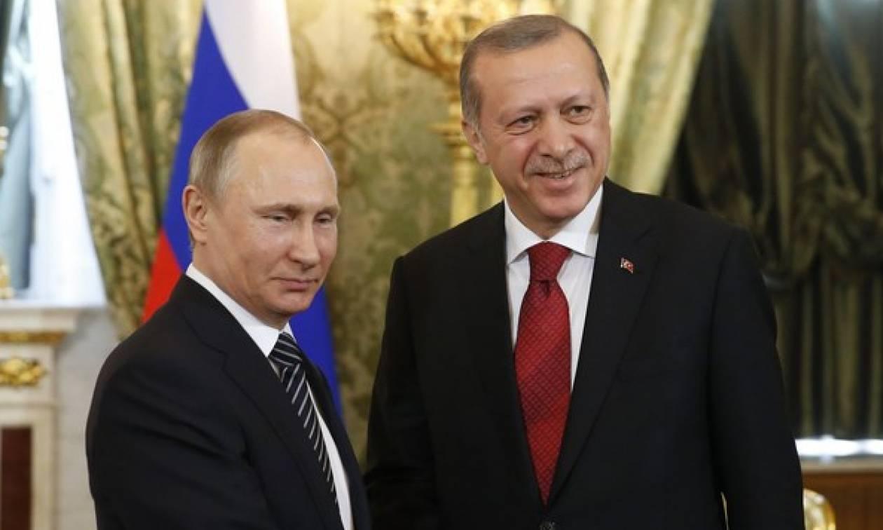 Τηλεφωνική επικοινωνία Πούτιν - Ερντογάν: Τι συμφώνησαν για τη Συρία