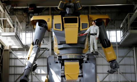 Viral: Αυτό το γιγάντιο ρομπότ είναι ό,τι πιο εντυπωσιακό θα δείτε σήμερα (Pics+Vid)
