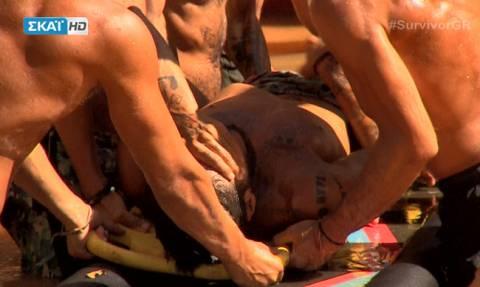 Survivor 2: Η σοκαριστική στιγμή του τραυματισμού του Αγόρου - «Πάγωσαν» οι συμπαίκτες του