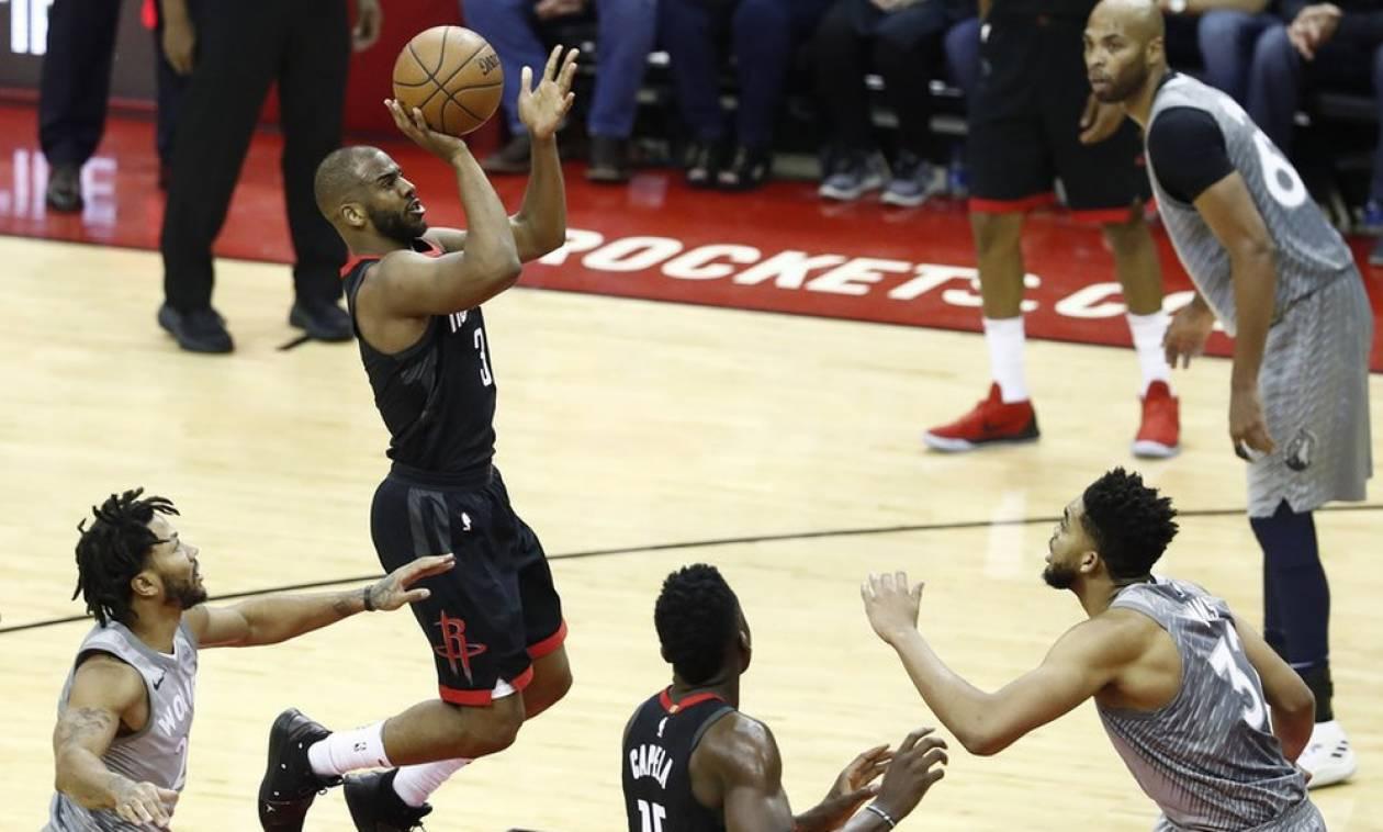 NBA: Πρώτο βήμα για Ρόκετς και Θάντερ, «σφαλιάρα» σε Καβαλίερς (videos)
