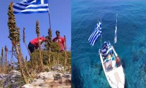 Τούρκοι κομάντος κατέβασαν την ελληνική σημαία στη νησίδα «Ανθρωποφάς» – Όλη η αλήθεια σε ένα χάρτη