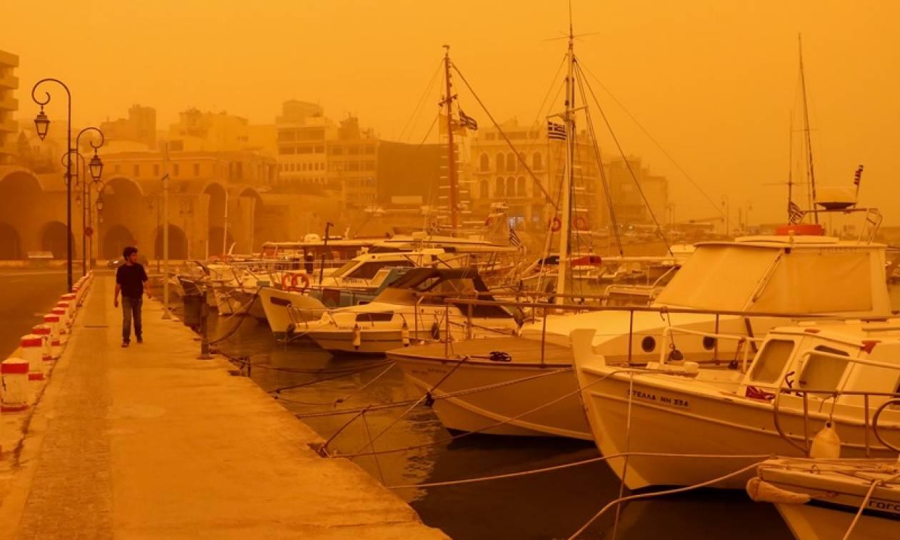 Νέο κύμα αφρικανικής σκόνης θα «πνίξει» την Κρήτη
