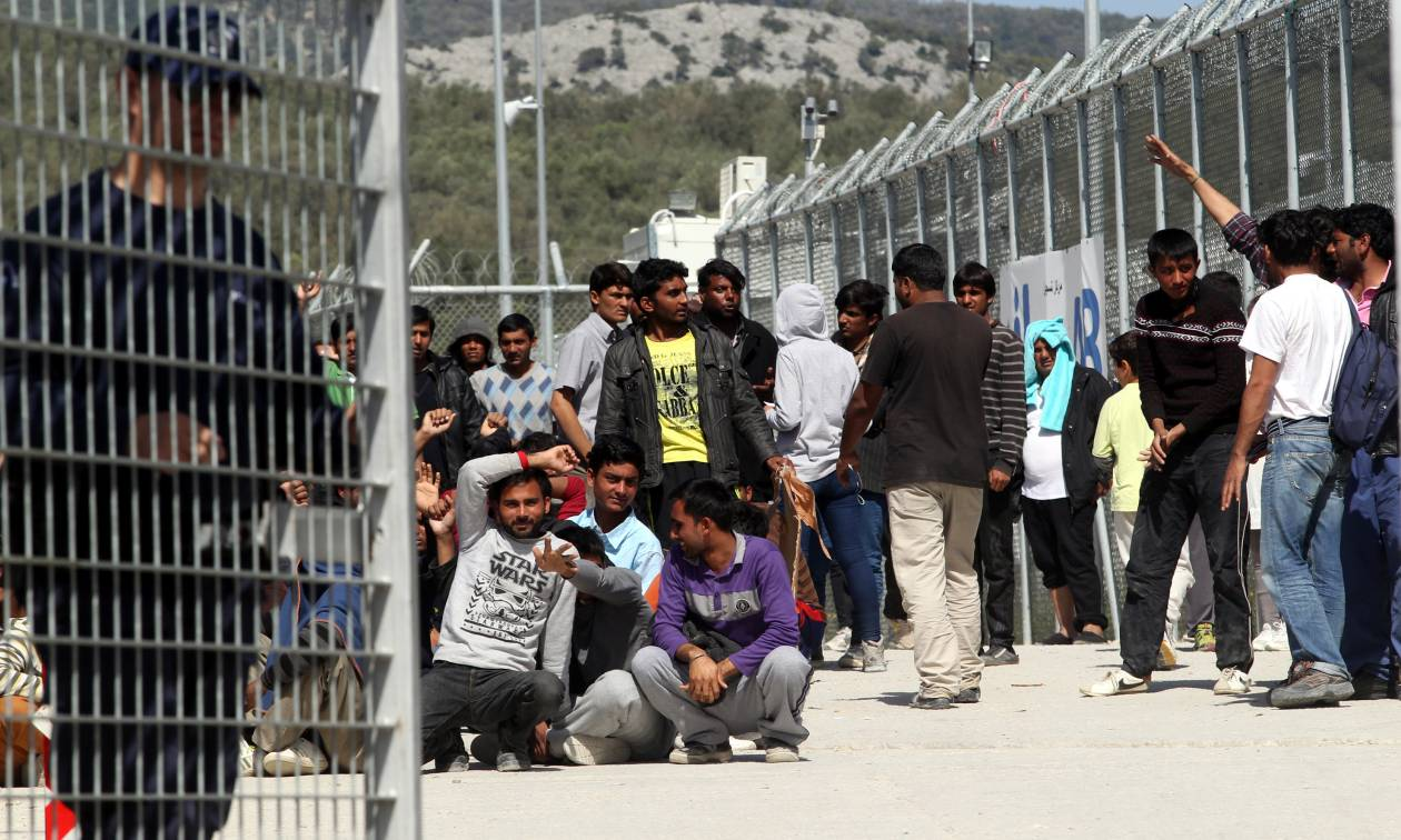 Διαδήλωση προσφύγων στη Μόρια - Κινούνται προς το κέντρο της πόλης