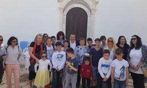 Ο Αλέξης Τσίπρας με τα παιδιά του Καστελλόριζου (pics)