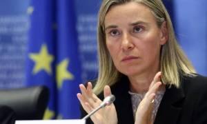 Στα Σκόπια η Μογκερίνι - Ξεκινάει περιοδεία στα Δυτικά Βαλκάνια