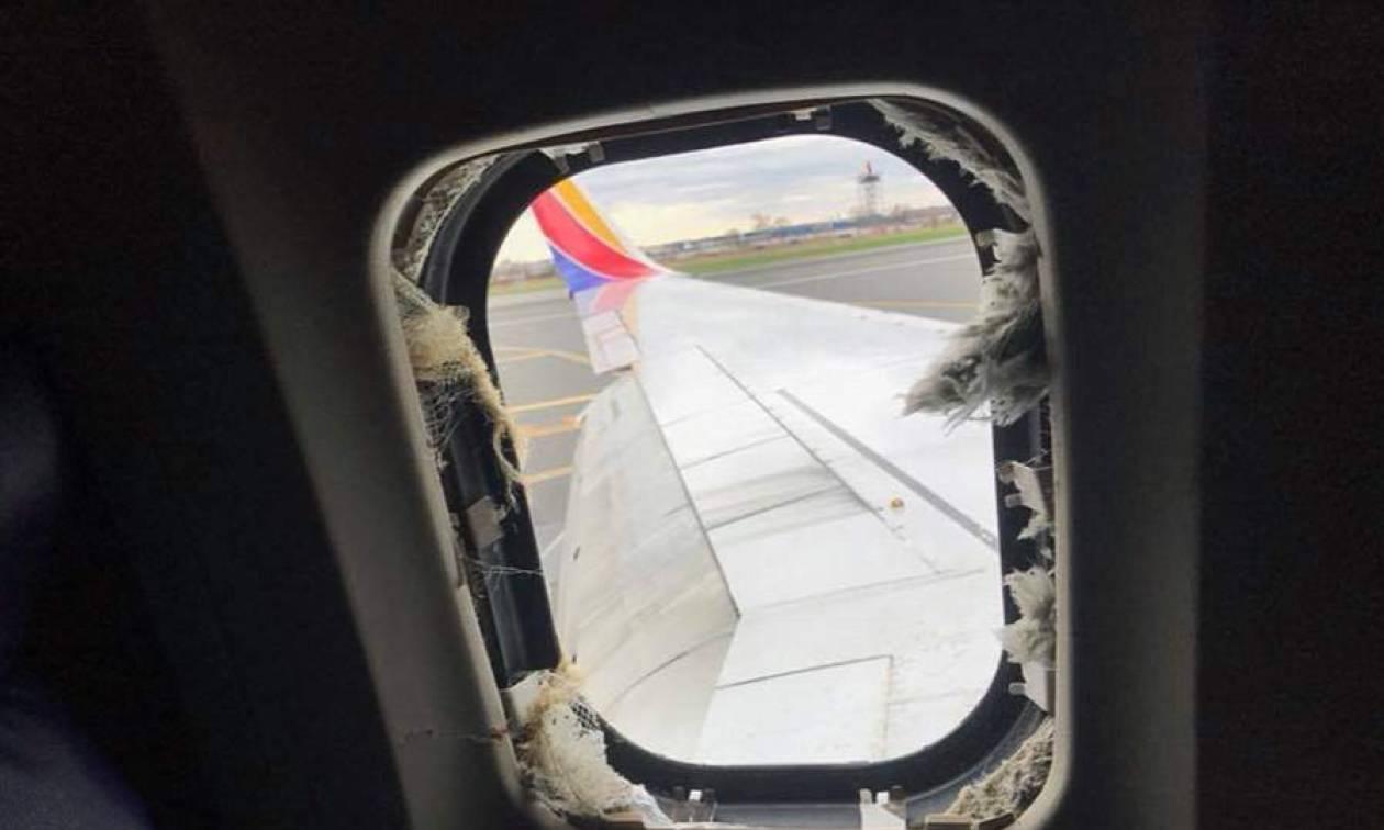 Έκρηξη σε αεροπλάνο: Φρικτός θάνατος γυναίκας – Τη «ρούφηξε» το σπασμένο παράθυρο (vid+pics)