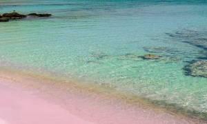 Κρήτη: Οι μαγικές παραλίες με τη ροζ άμμο και πώς εξηγείται το χρώμα τους (pics)