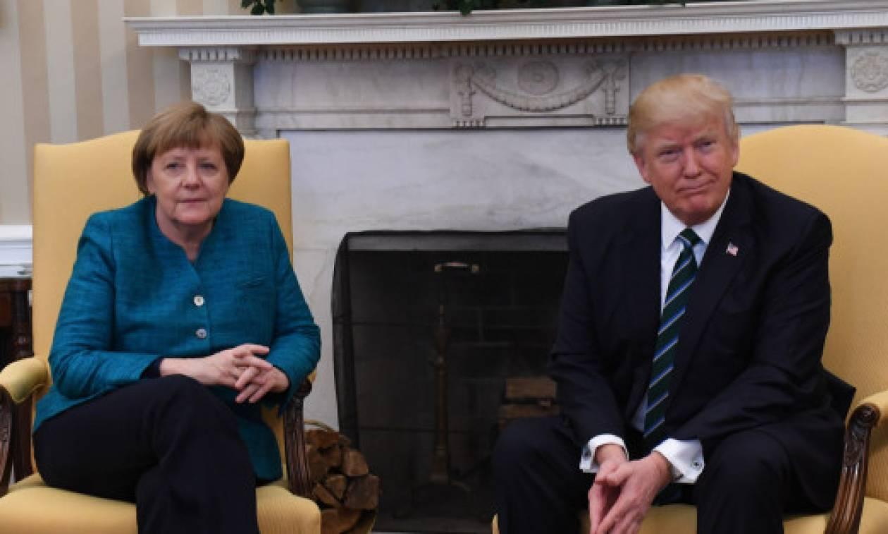 Μέρκελ: Ξανά στο Λευκό Οίκο για μια συνάντηση με τον Τραμπ χωρίς… απρόοπτα