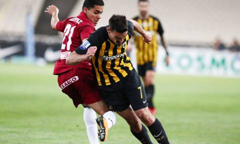 ΑΕΚ-ΑΕΛ 1-0: Ο Λάζαρος με γκολάρα την έστειλε στον τελικό με τον ΠΑΟΚ!