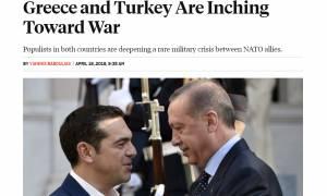 «Βόμβα» από Foreign Policy: Ελλάδα και Τουρκία κινούνται προς τον πόλεμο