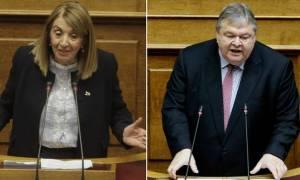 Χαμός στη Βουλή: Αρπάχτηκαν στην Επιτροπή Θεσμών για την υπόθεση της Σαουδικής Αραβίας