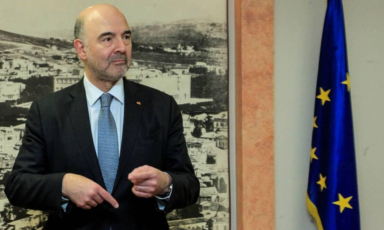 Μοσκοβισί: Είμαι βέβαιος ότι το ελληνικό πρόγραμμα θα ολοκληρωθεί στην ώρα του