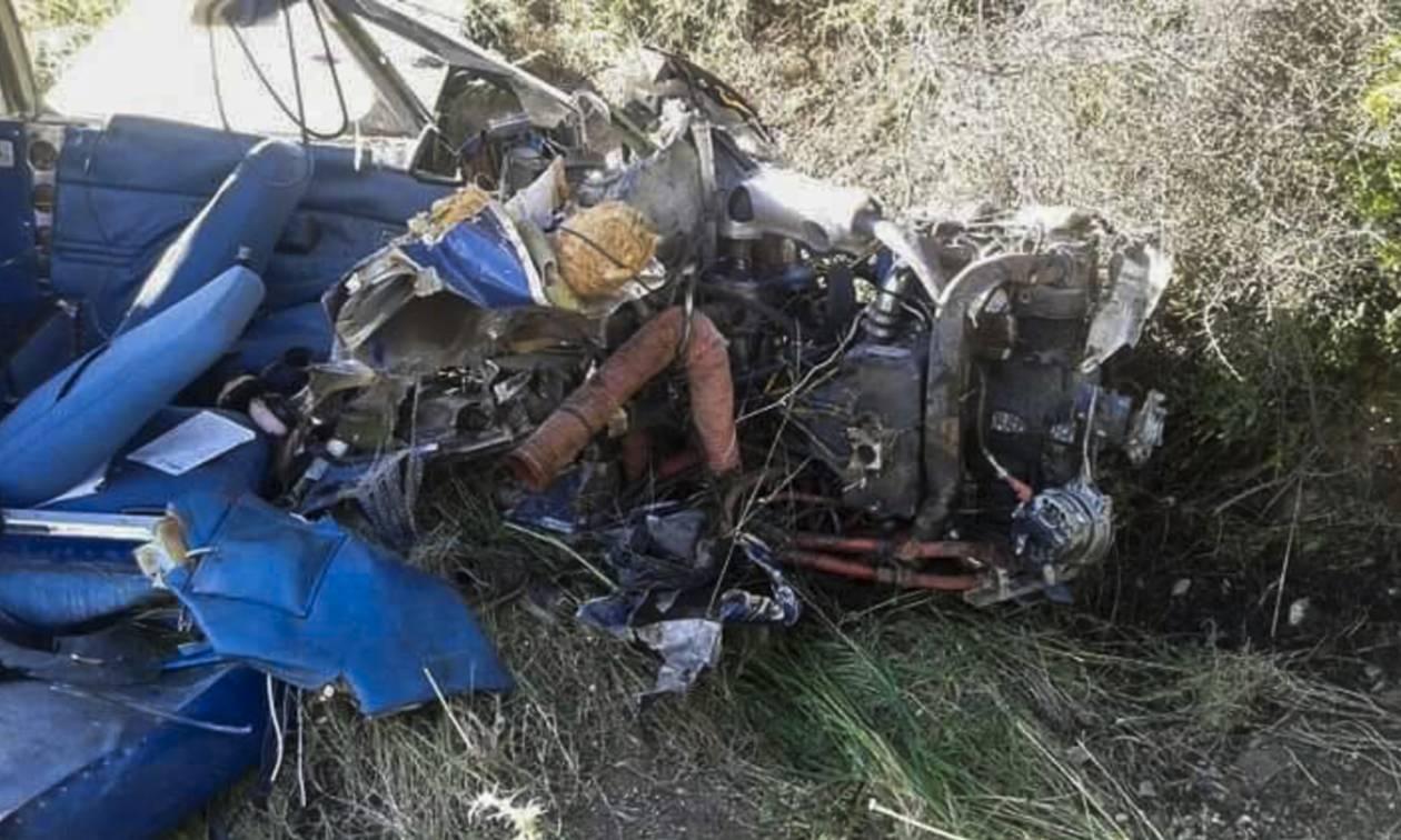 Πτώση μονοκινητήριου αεροσκάφους στη Φωκίδα - Δύο νεκροί
