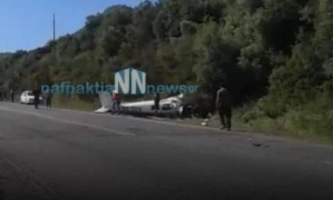 Φωκίδα: Βίντεο - ντοκουμέντο από το σημείο της συντριβής του αεροσκάφους