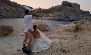 Ακυρώθηκαν εκατοντάδες γάμοι στη Λίνδο εξαιτίας του γαμήλιου... στοματικού σεξ! (pic)