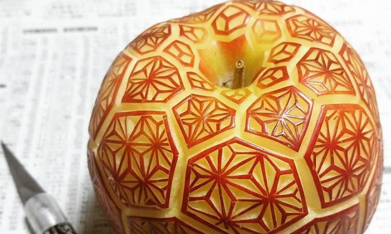Gaku: Ο γλύπτης που μετέτρεψε τα φρούτα σε εντυπωσιακά έργα τέχνης (Pics)
