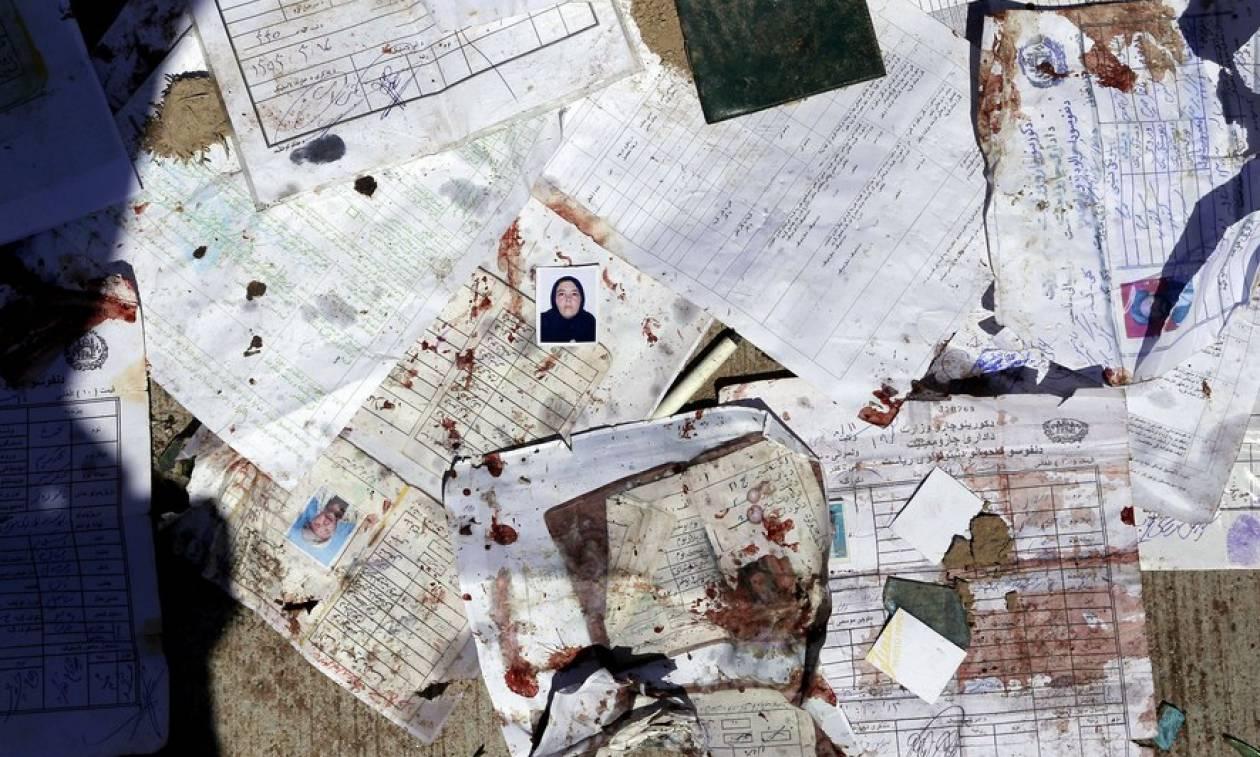 Μακελειό στην Καμπούλ: Επίθεση αυτοκτονίας με δεκάδες νεκρούς (ΠΡΟΣΟΧΗ ΣΚΛΗΡΕΣ ΕΙΚΟΝΕΣ)