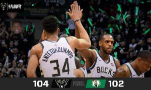 NBA: Απίθανα πράγματα και νικητήριο καλάθι από τον Γιάννη - Οι Μπακς ισοφάρισαν τους Σέλτικς (vids)