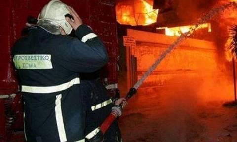 Στις φλόγες μονοκατοικία στην Κυλλήνη - Νεκρή μια 79χρονη