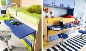 Είκοσι πέντε ιδέες για γραφείο στο παιδικό δωμάτιο