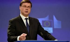 Ντομπρόβσκις: Καλά τα νέα για την Ελλάδα, υπερέβη τους δημοσιονομικούς στόχους