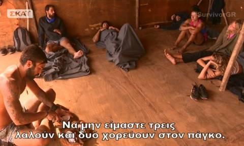 Survivor 2: Ποιος είδε τον Χάρη και δεν τον φοβήθηκε: «Να μην είμαστε τρεις λαλούν και δυο χορεύουν»