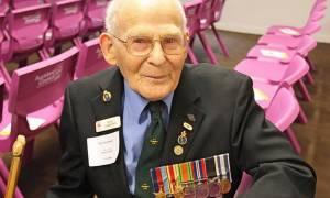 Πέθανε σε ηλικία 100 ετών o Νεοζηλανδός βετεράνος της Μάχης της Κρήτης Roye Hammond