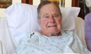 ΗΠΑ: Στο νοσοκομείο εισήχθη ο Τζορτζ Μπους ο πρεσβύτερος