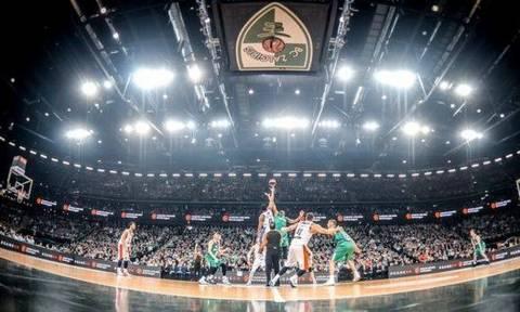 Euroleague: Ζαλγκίρις - Ολυμπιακός: Μειωμένη κατά 2.400 θέσεις η «Zalgirio Arena»