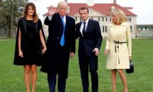 Κρίσιμη συνάντηση Τραμπ - Μακρόν στις ΗΠΑ