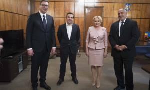 Τσίπρας από Βουκουρέστι: Να καθορίζουμε εμείς τις εξελίξεις (video+pics)