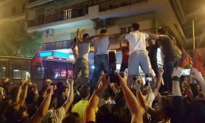 Θεσσαλονίκη: Επεισόδια και χημικά μετά από πορεία έξω από το τουρκικό προξενείο (pics+vids)