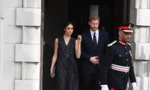 Tην ώρα που η Kate Middleton γεννούσε η Meghan Markle έκλεβε τις εντυπώσεις