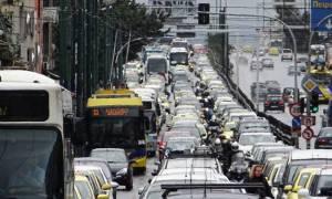 Κυκλοφοριακό χάος ΤΩΡΑ στο κέντρο της Αθήνας - Ποιοι δρόμοι είναι κλειστοί