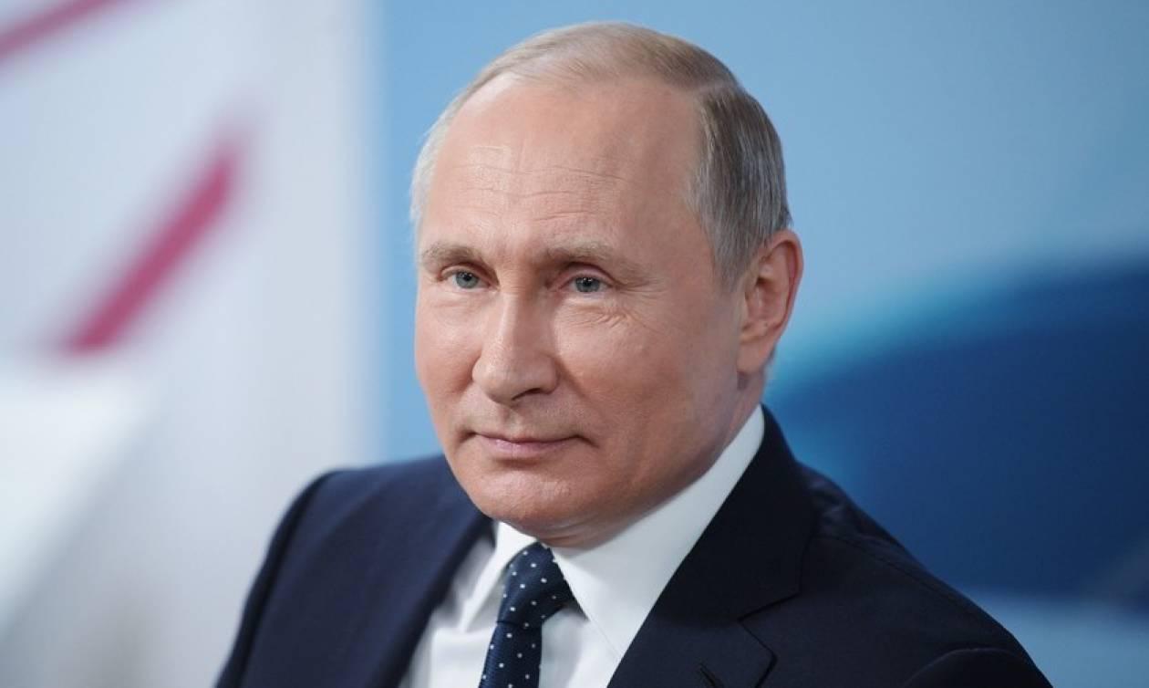 Ρωσία: Στα «ύψη» εκτινάχθηκε η δημοτικότητα του Βλαντίμιρ Πούτιν
