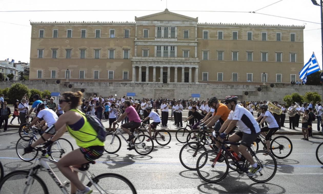 Tην Κυριακή ο 25ος Ποδηλατικός Γύρος της Αθήνας